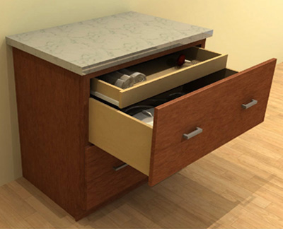 Standard Drawer Base Cabinets
